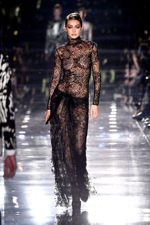 Kendall Jenner Gigi Hadid Just Wore Naked Dresses For Tom Ford