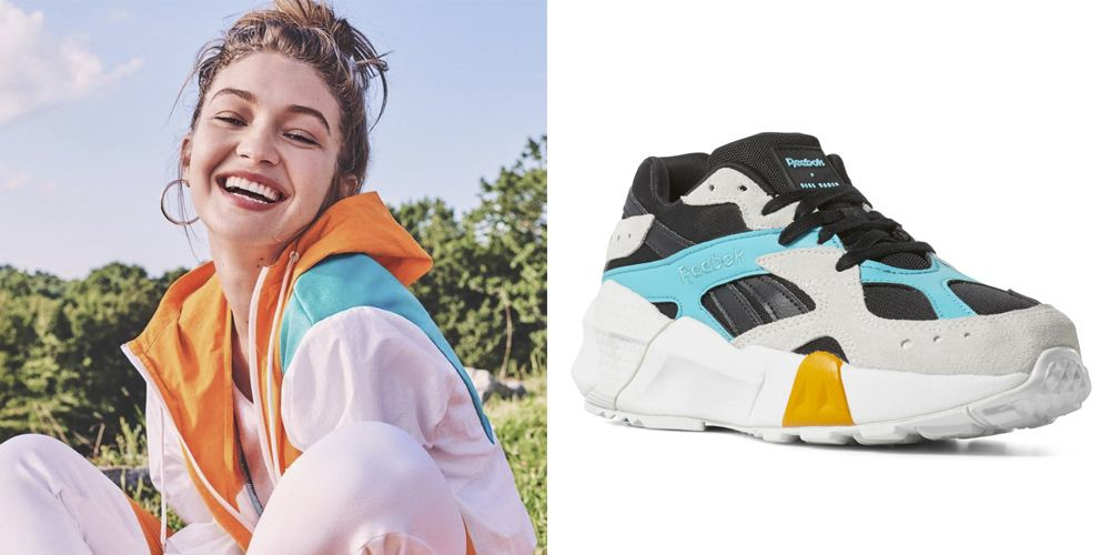 Gigi Hadid Releases Athleisure Clothing Collection With Reebok – Where to  Buy Reebok x Gigi Hadid Sneakers 76509665f