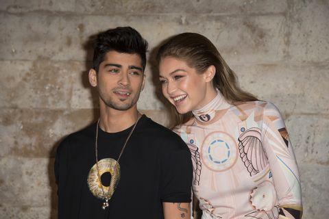 Gigi Hadid hints she's back together with Zayn Malik