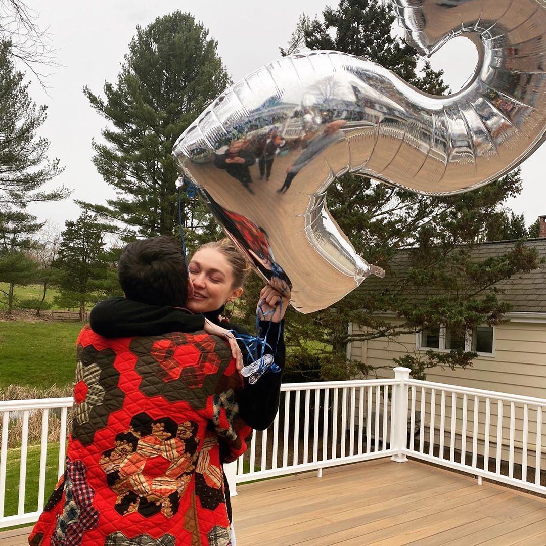 Evidence Gigi Hadid Had a Secret Gender Reveal Party Pics