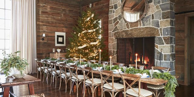 This Gil Schafer-Designed Vermont Barn Is a Storybook Setting for Holiday Parties