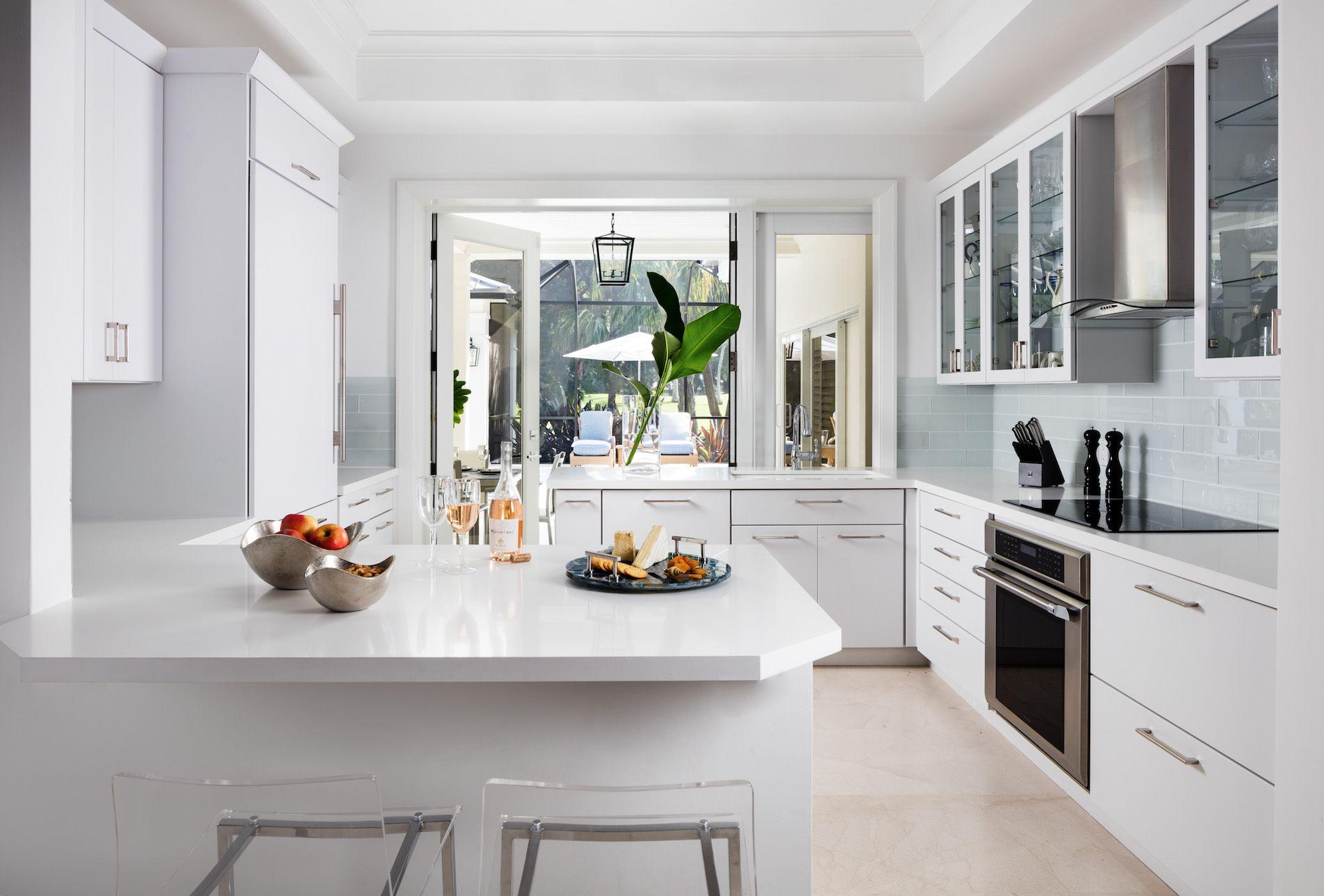 Kitchen Peninsula Ideas 34 Gorgeous And Functional Kitchen Peninsula Ideas