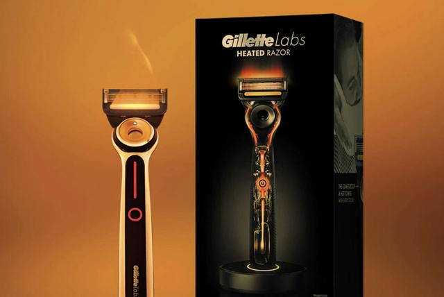 a heated razor