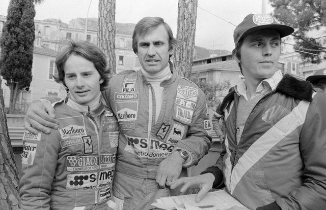 gilles villeneuve au grand prix de monaco en 1978