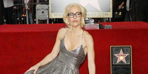 Gillian Anderson desnuda en PETA