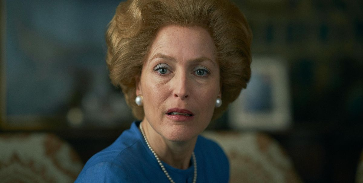 Gillian Anderson details odd way she got into character for The Crown