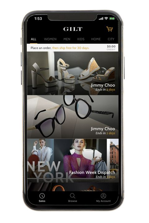Gilt - Best Clothing Apps