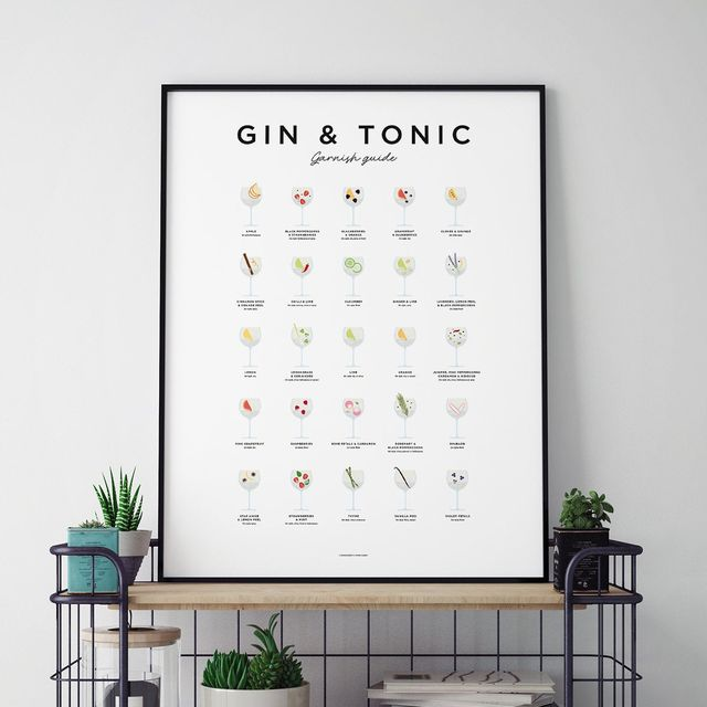 Gin and tonic picture for the home