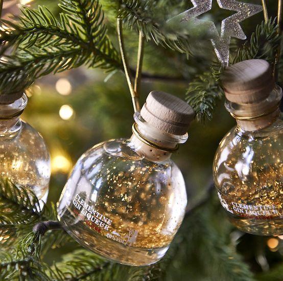 ms snow globe gin liqueur baubles