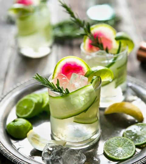 Gin cocktails - Gin recipes