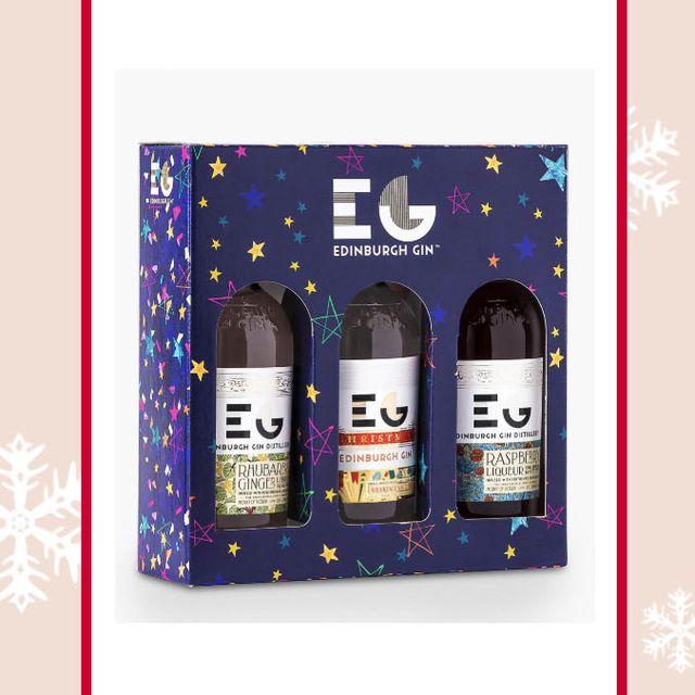 Christmas gin gift set