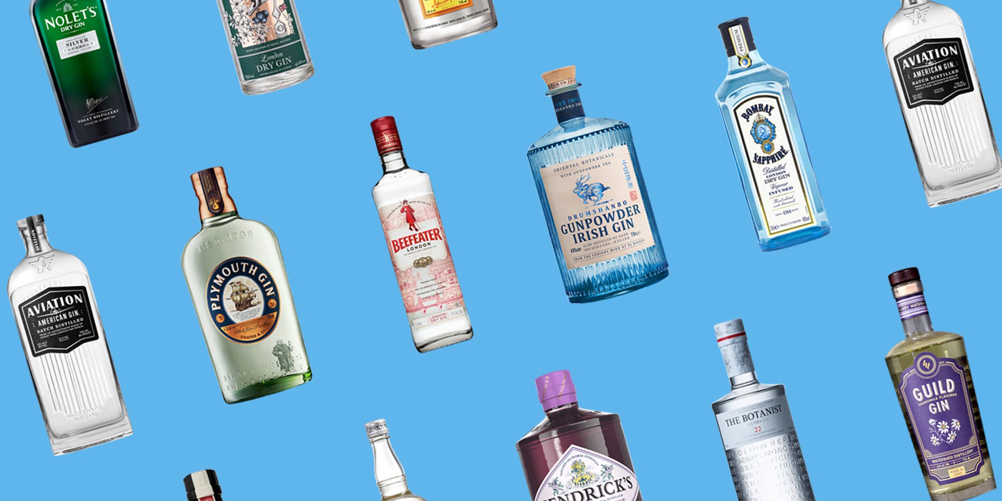15 Best Gin Brands 2019 - What Gin Bottles to Buy Right Now