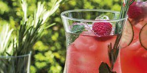 Gin tonic de fresas