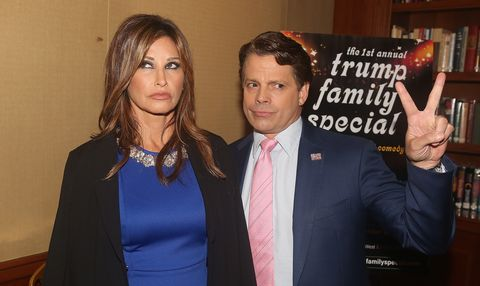 'The 1st Annual Trump Family Special' Off-Broadway Press Conference