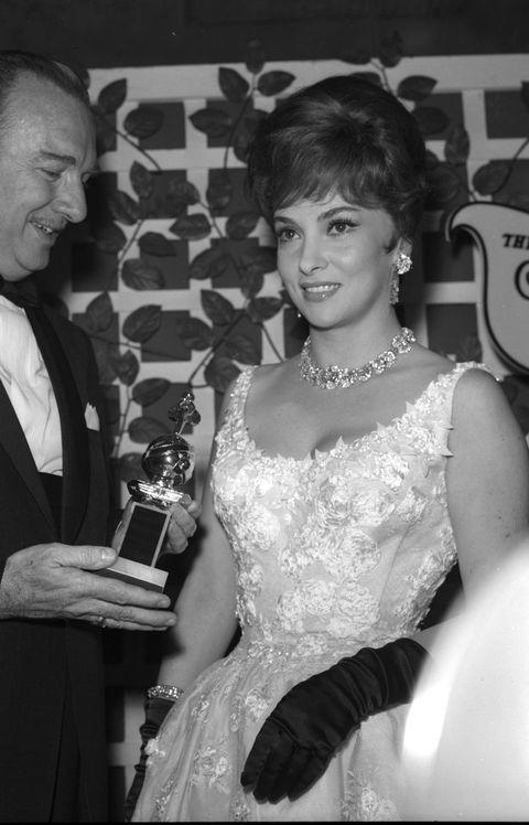 Gina Lollobrigida...