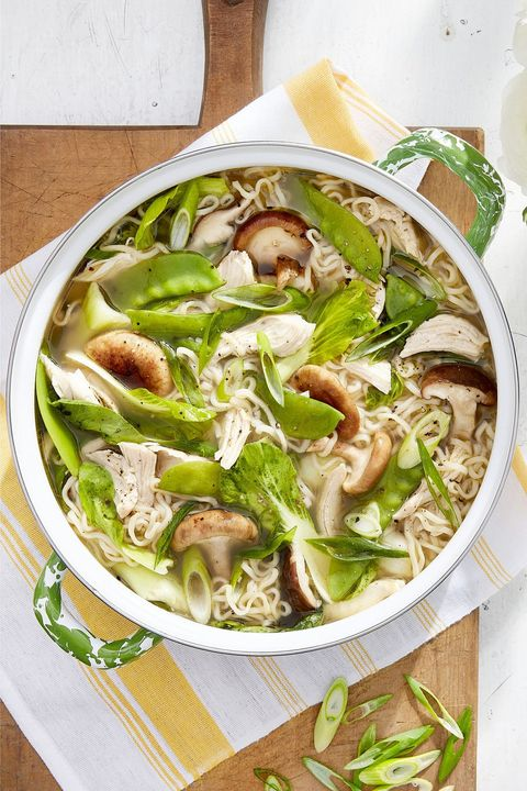 ginger garlic chicken ramen