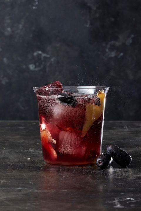 ginger sangria cocktail