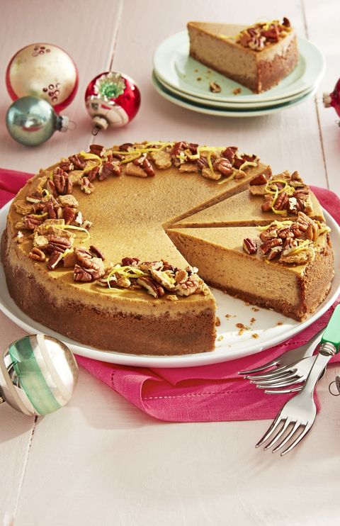 gingerbread cheesecake pecan graham crust