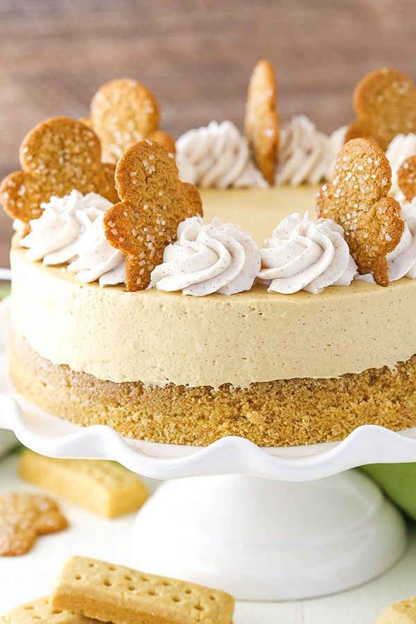 gingerbread cheesecake recipe