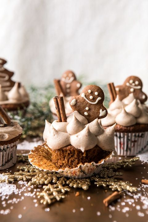 gingerbread christmas cupcakes