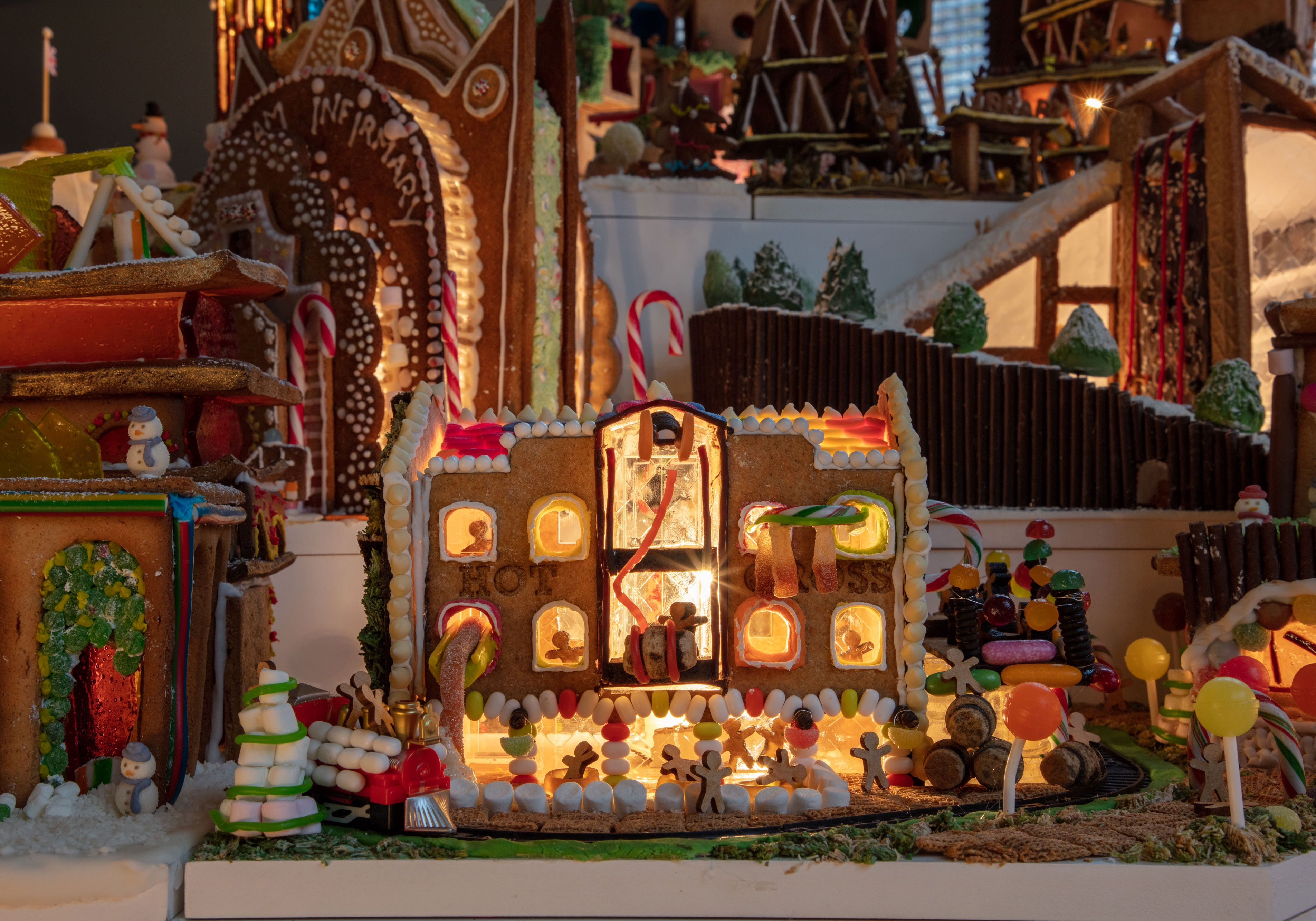Gingerbread City exhibition, V&A Museum, London