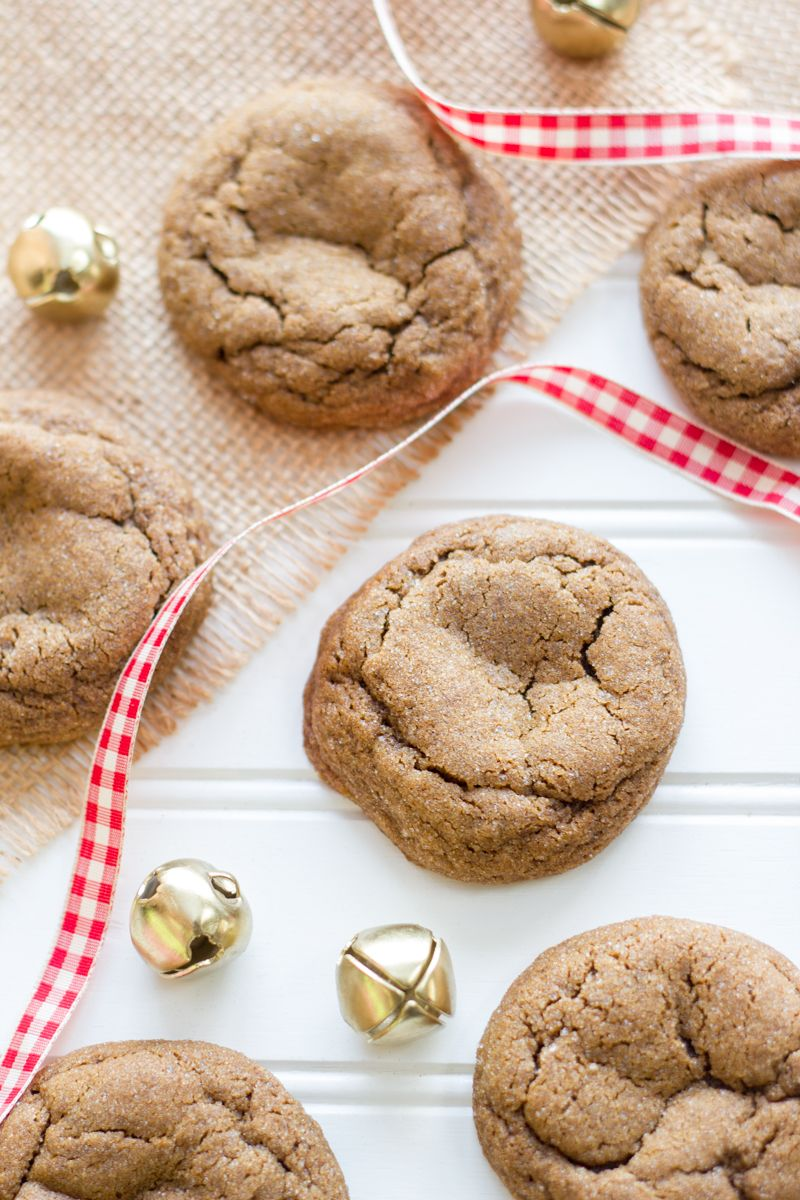 gingerbread cookies chewy