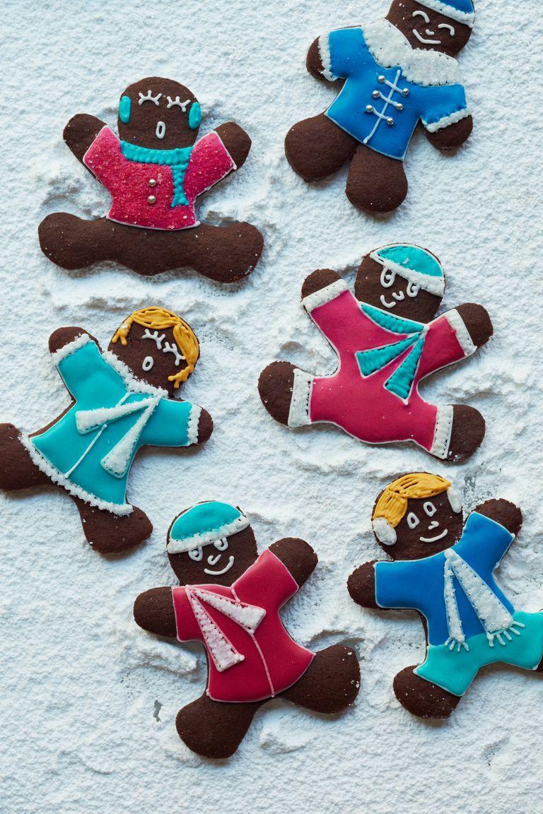 gingerbread recipe chocolate gingerbread men