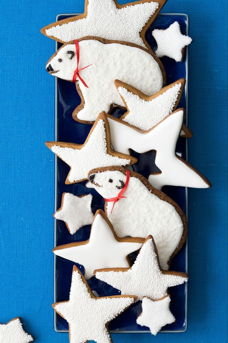 gingerbread recipe Gingerbread Polar Bears and Frosted Stars