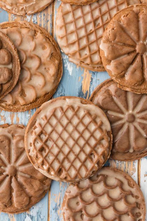 gingerbread cookies rum glaze soft