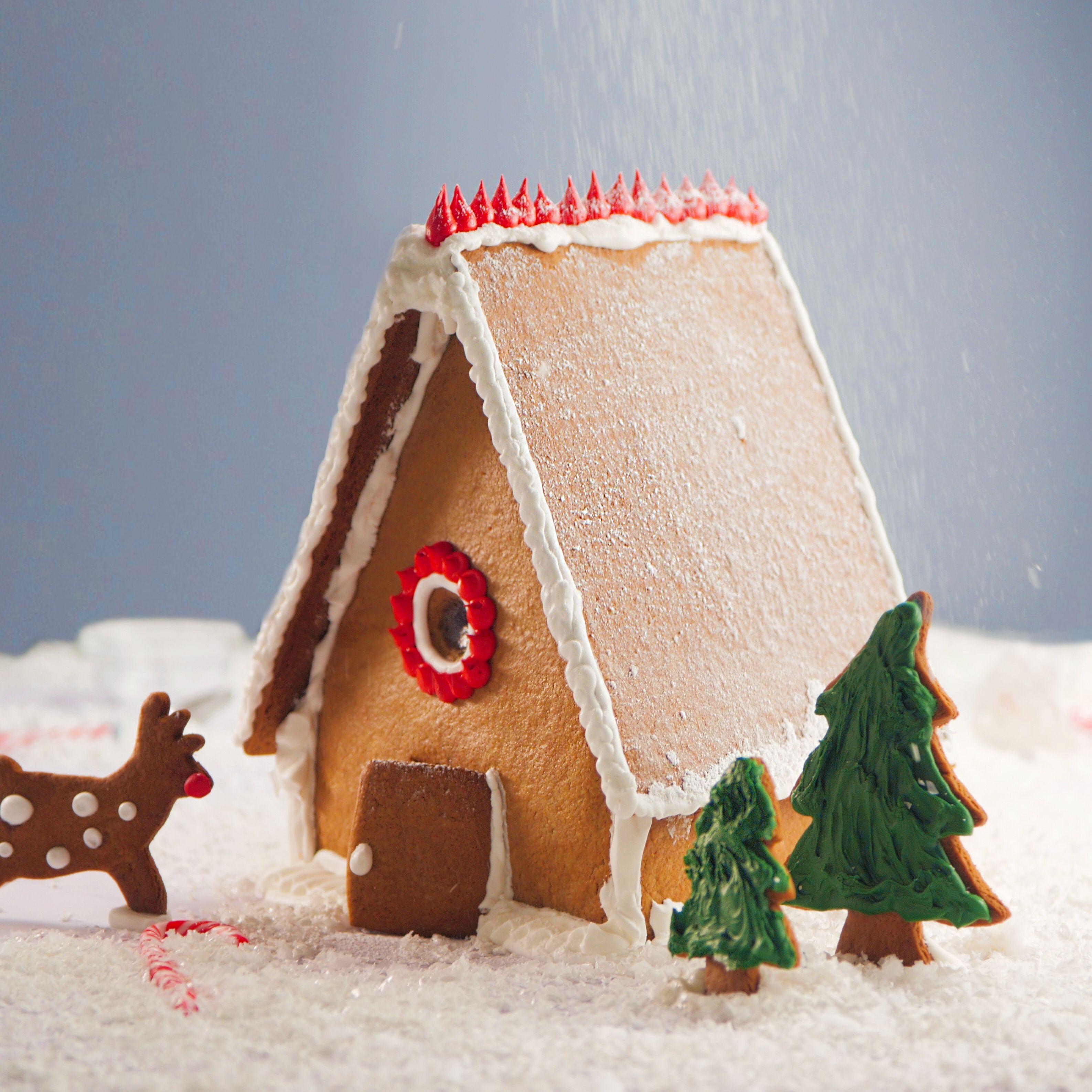 Gingerbread House Recipe Winter Wonderland Gingerbread House