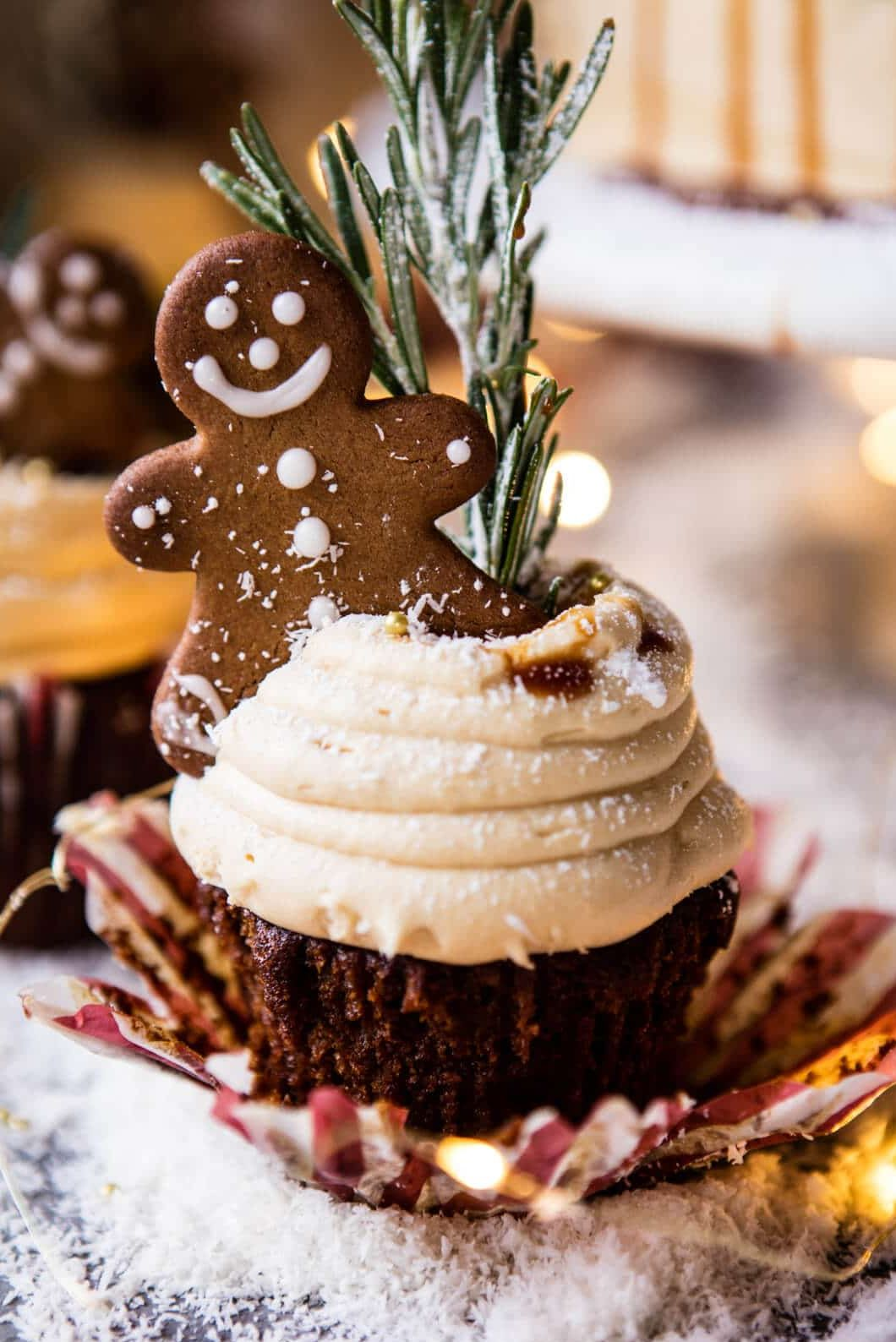 gingerbread cupcake recipe