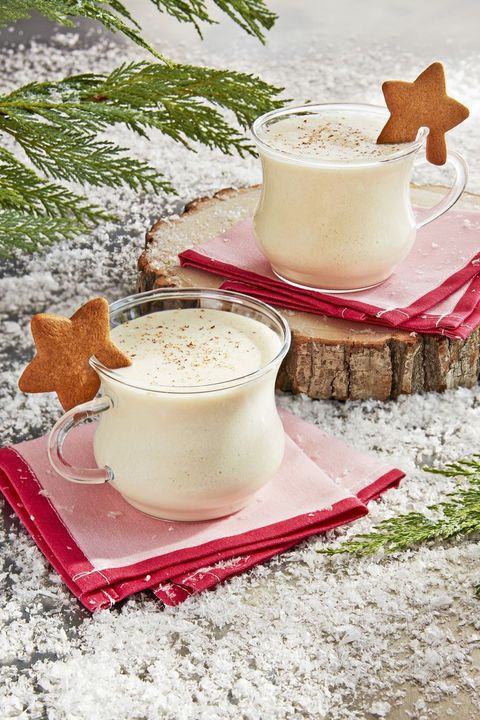 christmas cocktails - gingerbread eggnog