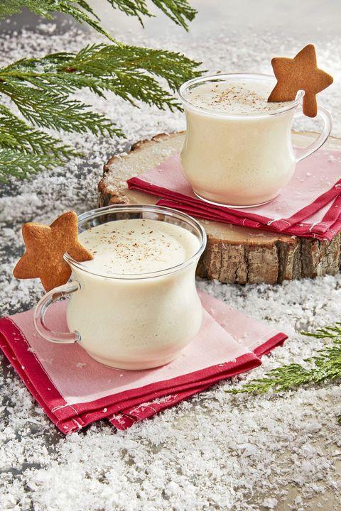 gingerbread eggnog winter drinks
