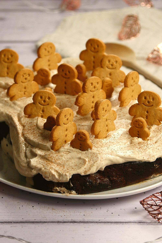 Gingerbread latte loaf cake