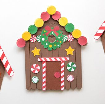 popsicle christmas crafts