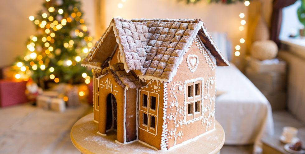 How do you make icing stick to gingerbread houses