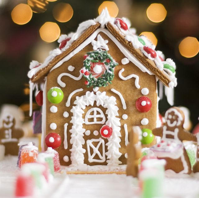 gingerbread house template ideas  6+ Best Gingerbread House Ideas and Pictures - How to Make ...