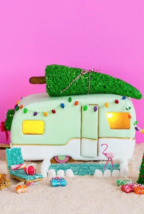 gingerbread house ideas camper