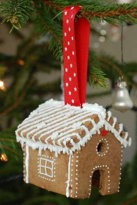 gingerbread house ideas ornament