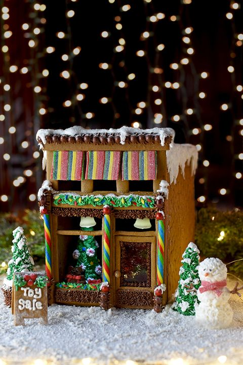 gingerbread house ideas victorian - Gingerbread House Christmas Decorations