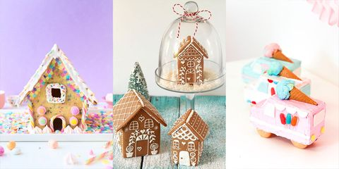 gingerbread houses - Gingerbread House Christmas Decorations