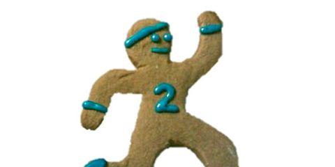 Gingerbread Runner Cookie
