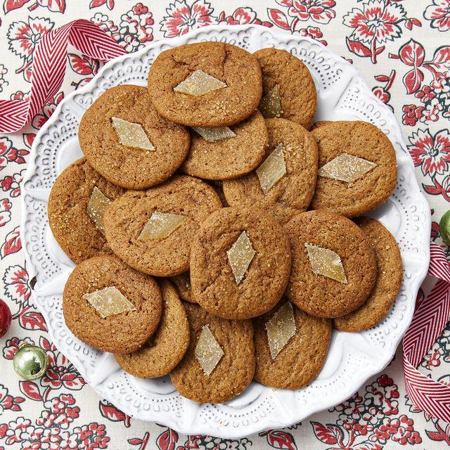 gingerbread slice and bake cookies
