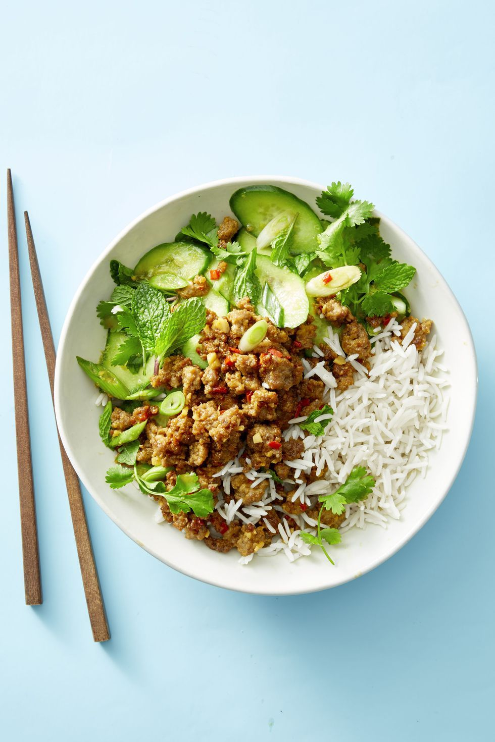 Family Style Recipes Gingery Pork Cucumber Salad