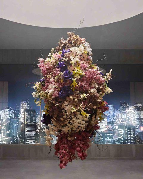 bouquet, ginza, tokyo, shiseido, profumo, fiori, incenso