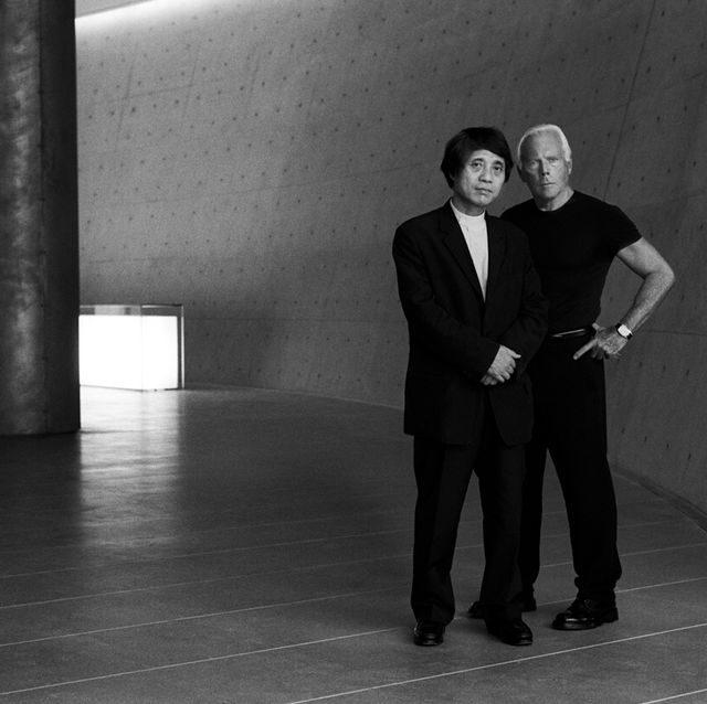 Giorgio Armani and Tadao Ando