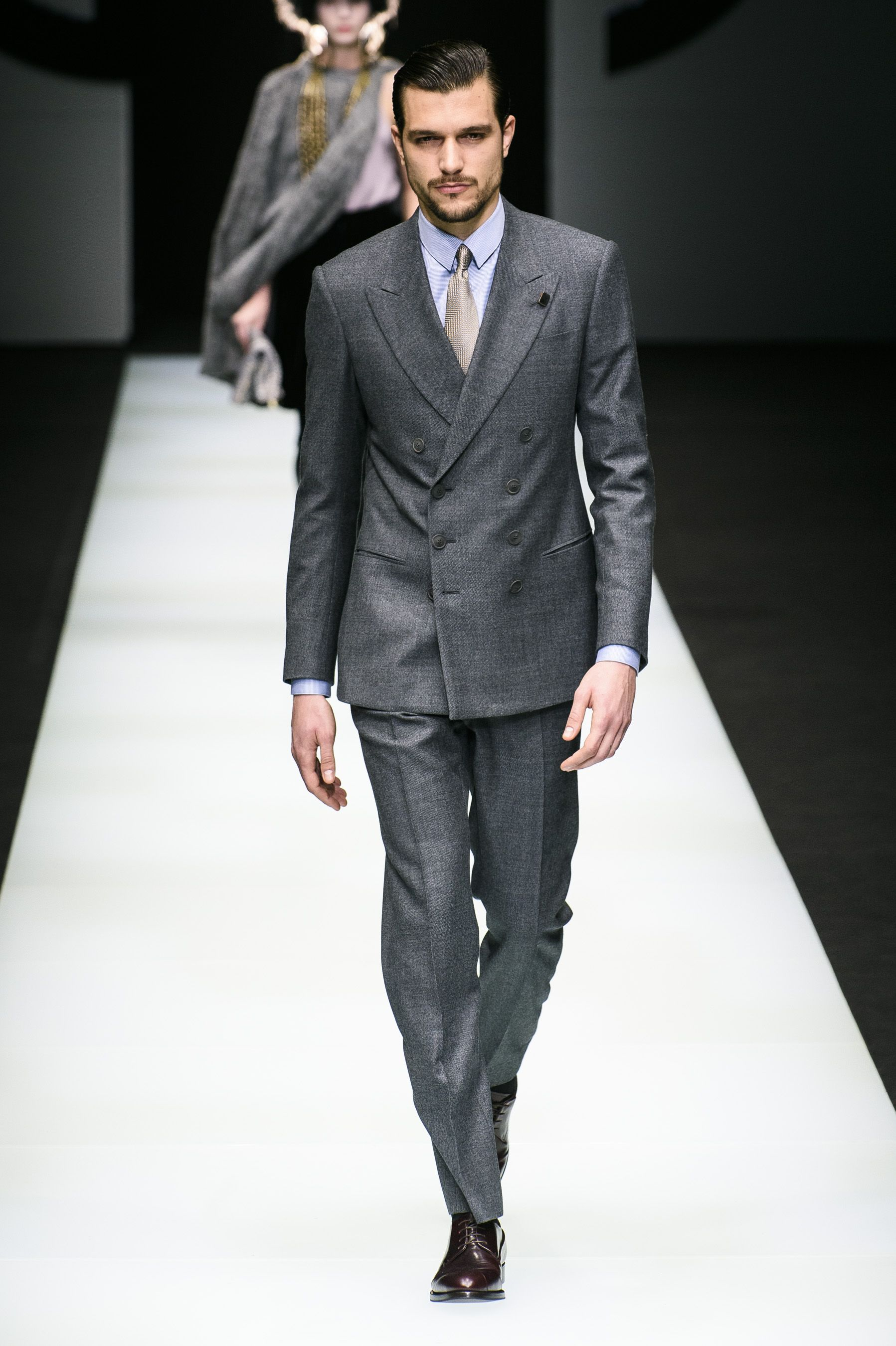 f8c0185a9449 96 Looks From Giorgio Armani Fall 2018 MYFW Show – Giorgio Armani Runway at  Milan Fashion Week