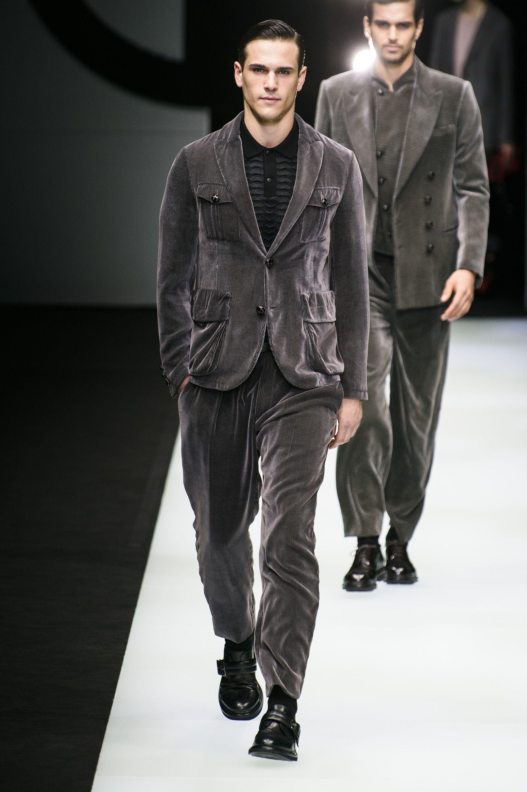 98cc361c02c 96 Looks From Giorgio Armani Fall 2018 MYFW Show – Giorgio Armani Runway at  Milan Fashion Week