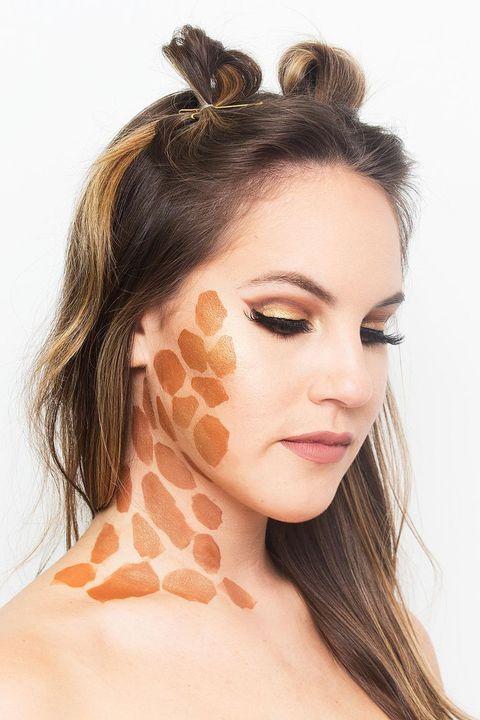 Easy halloween makeup tutorials halloween makeup ideas with get the look solutioingenieria Images