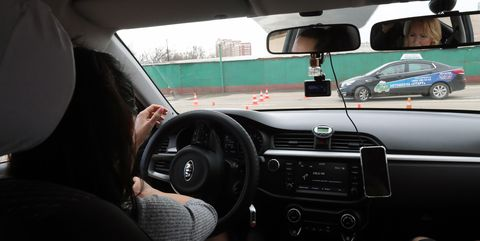 Driving school in Moscow
